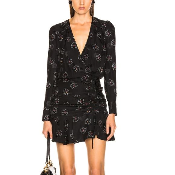 Veronica Beard Dresses & Skirts - Veronica Beard Anders Dress Black Floral 2